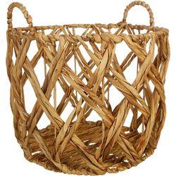 Large Diamond Decorative Basket
