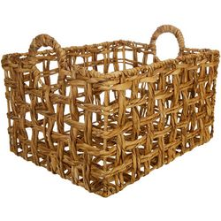 Three Hands Corp. Large Braided Decorative Basket