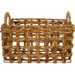 Three Hands Corp. Medium Braided Decorative Basket