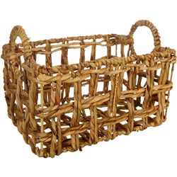 Three Hands Corp. Small Braided Decorative Basket