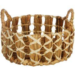 Round Small Braided Decorative Basket