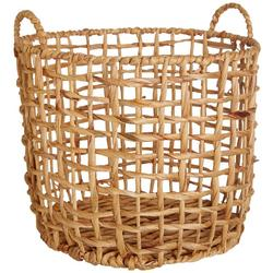 Large Zig Zag Decorative Basket