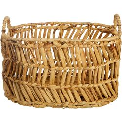 Three Hands Corp. Small Zig Zag Decorative Basket