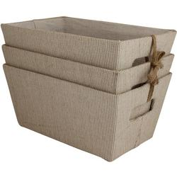 3-pc. Hardside Storage Bin Set