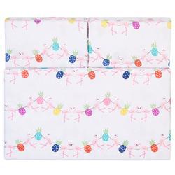 Flamingo Pineapple Sheet Set