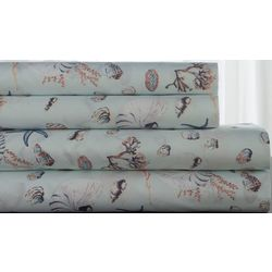Elite Home Sea Shells Sheet Set