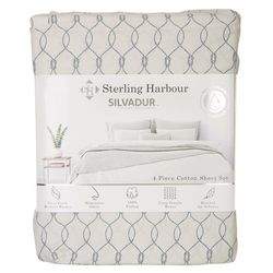 Sterling Harbour Nautical Rope Sheet Set