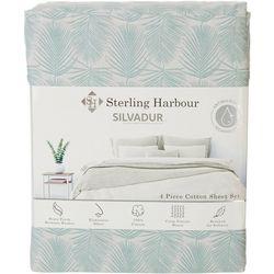 Sterling Harbour Frond Leaf Shell Sheet Set