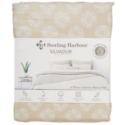 Sterling Harbour Sand Dollar Shell Sheet Set