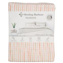 Sterling Harbour Striped Sheet Set