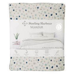 Sterling Harbour Dotted Sheet Set