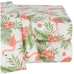 Coastal Home Flamingo Paradise Sheet Set