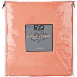 Royal Sateen Solid Cooling Sheet Set