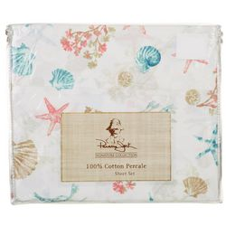 Panama Jack Seashore Shell Sheet Set
