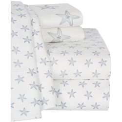 Coastal Home Starfish Printed Sheet Set