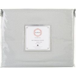 300 Thread Count Pin-Dot Queen Sheet Set