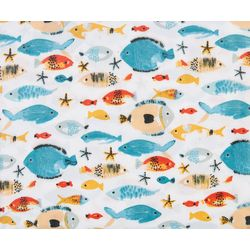 Coastal Home Wally Fish Sheet Set