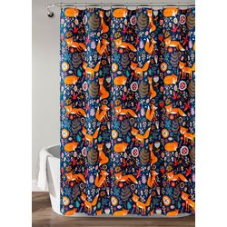 Lush Home Pixie Fox Shower Curtain