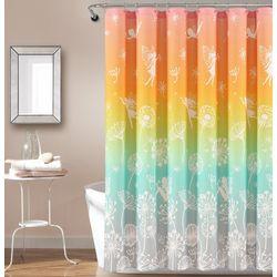 Make A Wish Dandelion Fairy Shower Curtain