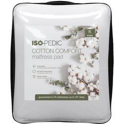Cotton Comfort Mattress Pad