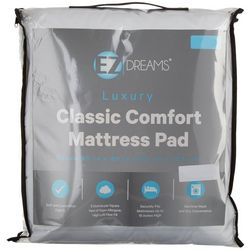 EZ Dreams Classic Comfort Mattress Pad