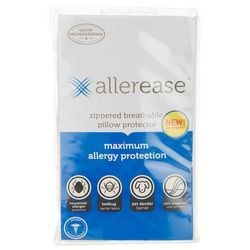 Allerease Maximum Allergy Protection Jumbo Pillow Protector