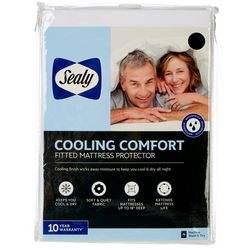 Sealy Cooling Comfort Fitted Mattress Protector