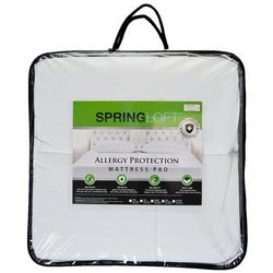 Spring Loft Allergy Protection Mattress Pad