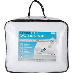 Spring Loft Waterproof Protective Mattress Pad