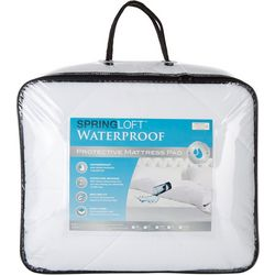Spring Loft Waterproof Protective Mattress Pad