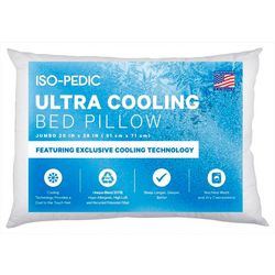 Iso-Pedic Ultra Cooling Bed Pillow