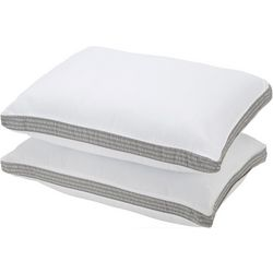 IZOD 2-pk. Logo Anchor Gusset Standard Bed Pillow