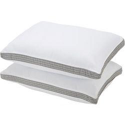 2-pk. Logo Anchor Gusset Standard Bed Pillow