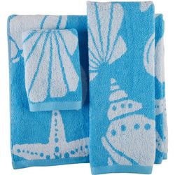 Arkwright 3-pc. Coastal Shell Towel Set