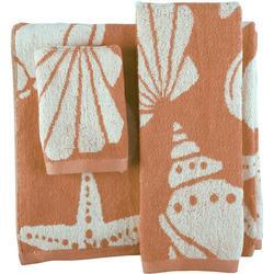 3-pc. Coastal Shell Towel Set