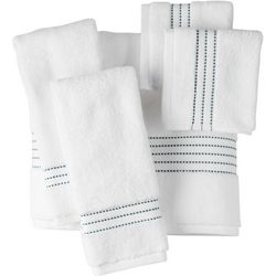 MicroCotton Pure Extravagance Dobby Stripe Towel Collection