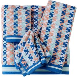 Easy Living by MicroCotton Biscayne Stripe Towel Collection
