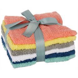6-pc. Silvia Wash Cloth Set