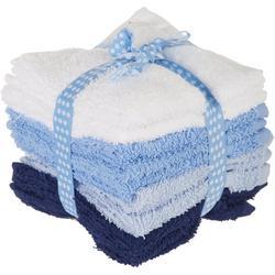 12-pk. Solid Wash Cloth Set