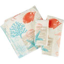 Deep Sea Print Bath Towel Collection