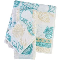 Coastal Home Shell Lagoon Bath Towel Collection