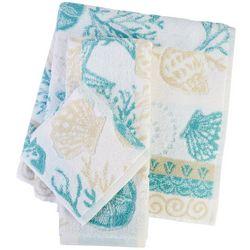 Shell Lagoon Bath Towel Collection