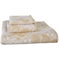High Tide Jaquard Bath Towel Collection