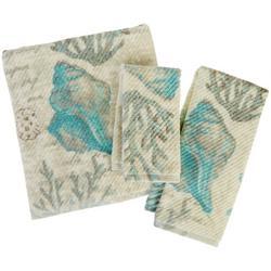 Vintage Seashore Bath Towel Collection