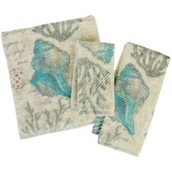 Vintage Seashore Bath Towel Collection