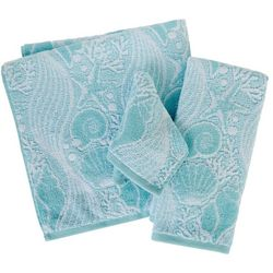 Coastal Home High Tide Jaquard Bath Towel Collection