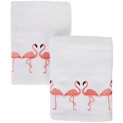 Coastal Home 2-pc. Fantastic Flock Hand Towel Set