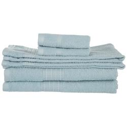 6-pc. Braided Dobby Towel Set