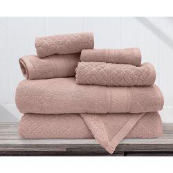 Allure 6-pc. Ellis Jacquard Bath Towel Set