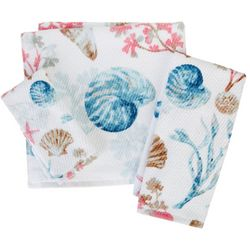 Seashore Shell Towel Collection